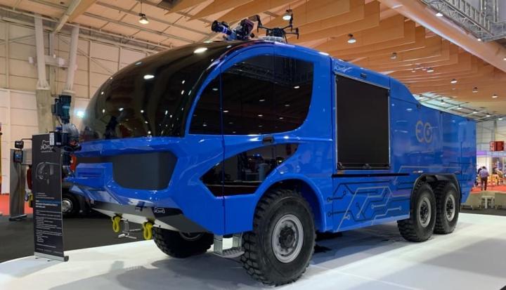 Eco Camões: Carro português de Combate a Incêndios totalmente elétrico