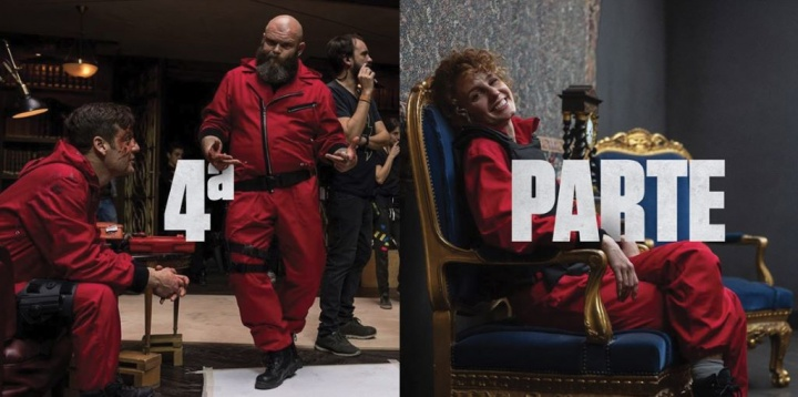 La Casa de Papel - Confirmada 4.ª temporada na Netflix