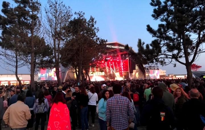 Festival Meo Marés Vivas: Tráfego Wi-Fi bateu os 3 terabytes