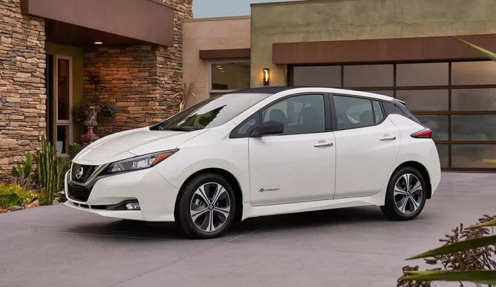 Imagem carro elétrico Nissan Leaf