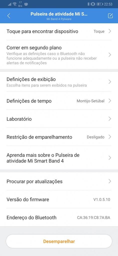 Mi Band Xiaomi smartband relógio