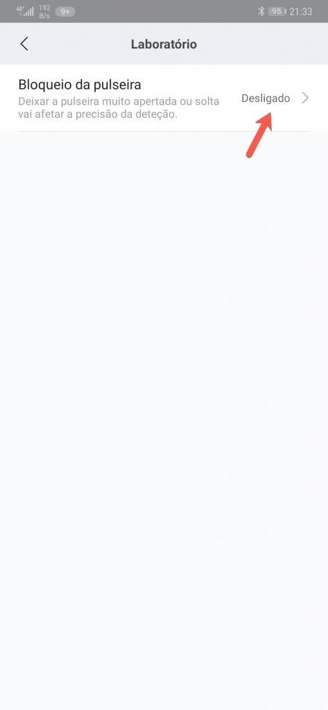 Mi Band Xiaomi segurança código pulso