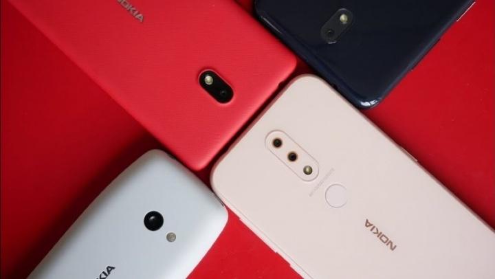 Nokia Google Android telefone básico