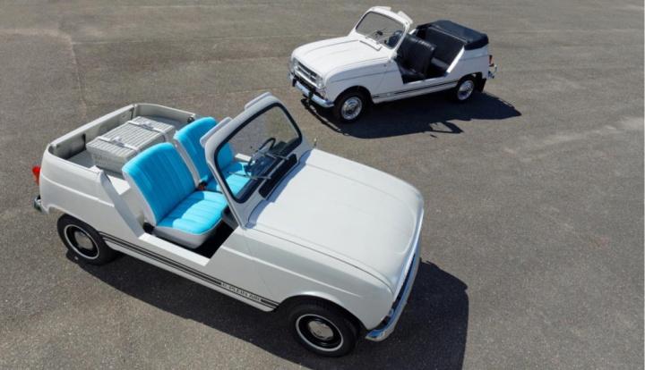Renault 4L e-Plein Air eléctrico