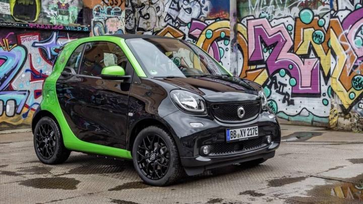 Smart elétricos carros Daimler AG transição