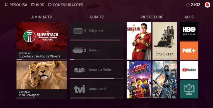 """Vodafone lança televisão do futuro """"Made in Portugal"""""""