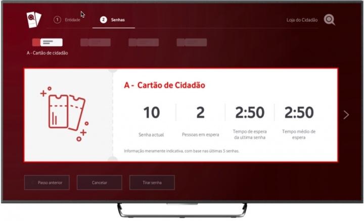 Vodafone: Já pode usar serviços públicos na sua TV