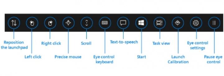 Windows 10 Microsoft olhar controle build
