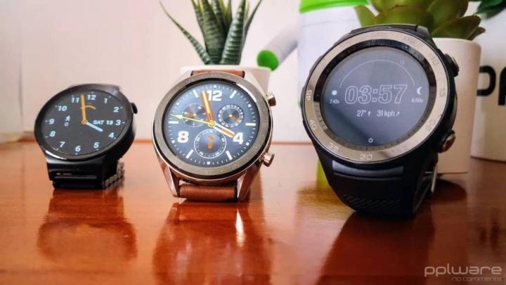 Wear OS Google smartwatches brilho desempenho