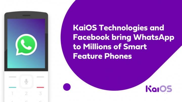 WhatsApp KaiOS telefones sistema operativo
