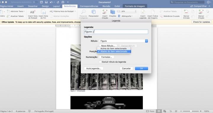 Microsoft Word: Como criar e inserir uma tabela de Figuras