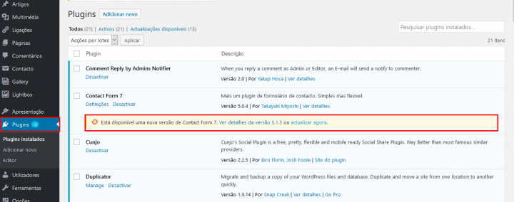Tem um site em WordPress? Como e porque o deve atualizar?