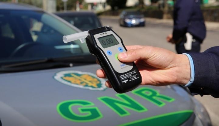 """Operação """"TAXA ZERO"""" da GNR: Atenção à condução sob efeito de álcool"""