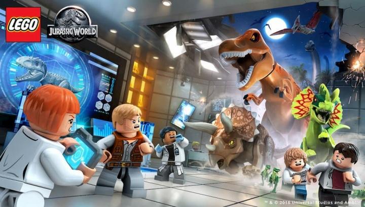 Nintendo Switch vai receber LEGO Jurassic World, também disponível para PS4 e Xbox One