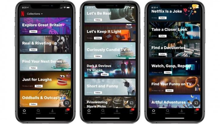 Netflix testa algo radical na apresentação de sugestões de