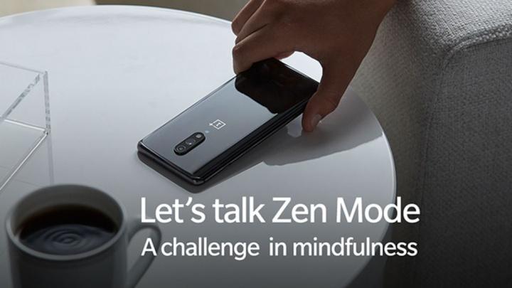 OnePlus 7 smartphones Android iOS Zen Mode