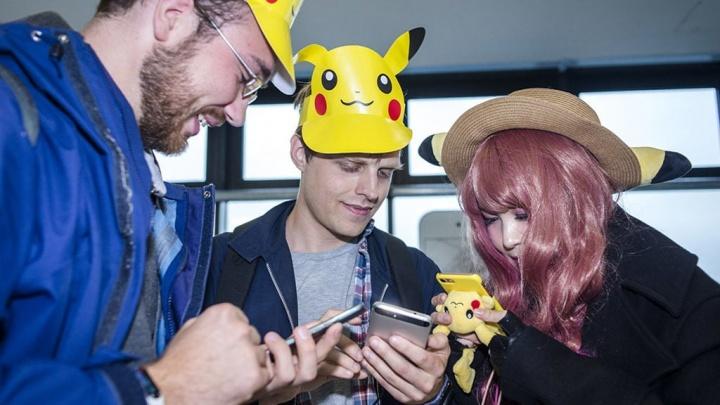 jogo Pokémon Go Android iOS
