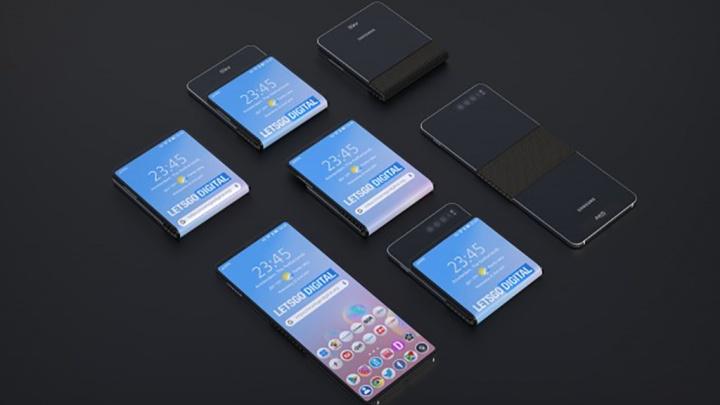 Samsung Galaxy Fold smartphone dobrável Motorola