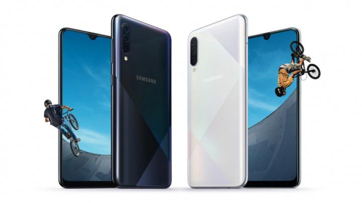 Samsung Galaxy A50s Samsung Galaxy A30s smartphones Android smartphone