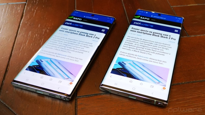 Note10 Note10 + Samsung S Pen produtividade