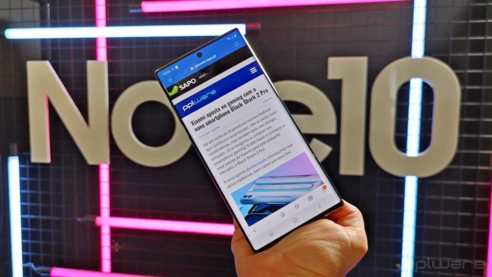 Samsung Galaxy Note10: Grandes smartphones vêm aos pares e melhor