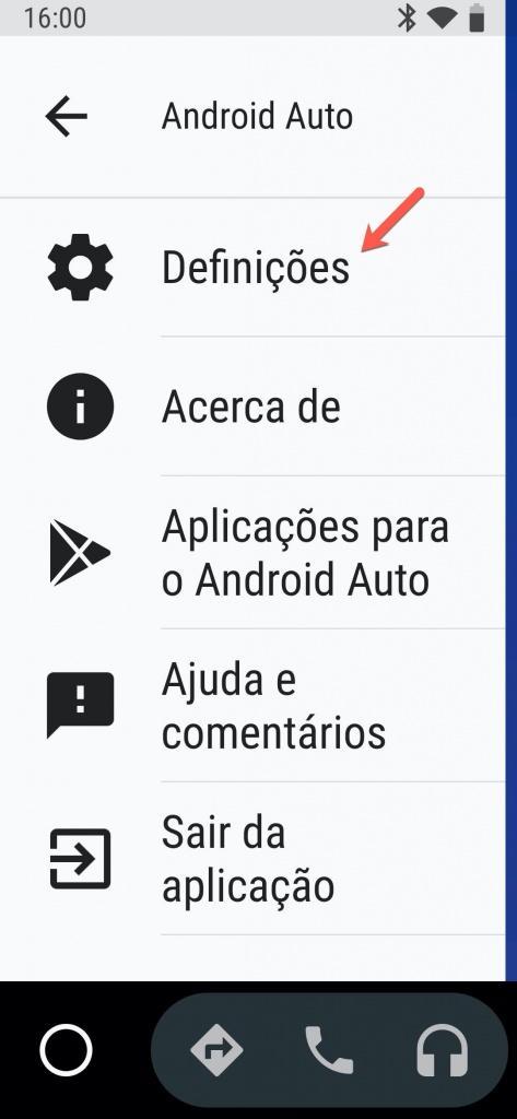 Android Auto Google projeção carro