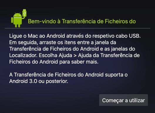 Android File Transfer: Transferir músicas do Mac para o Android