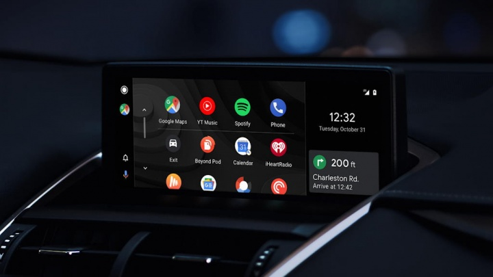 Android Auto interface Google truque
