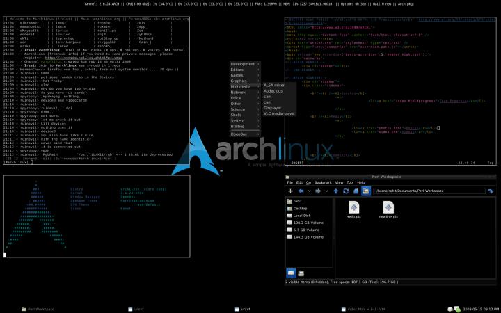 Primeira ISO do Arch Linux com Kernel 5.2 já está disponível