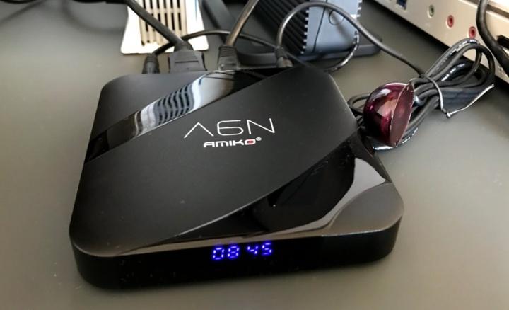 AMIKO A6N - TV Box Android 4K com IPTV que tem tudo o que precisa