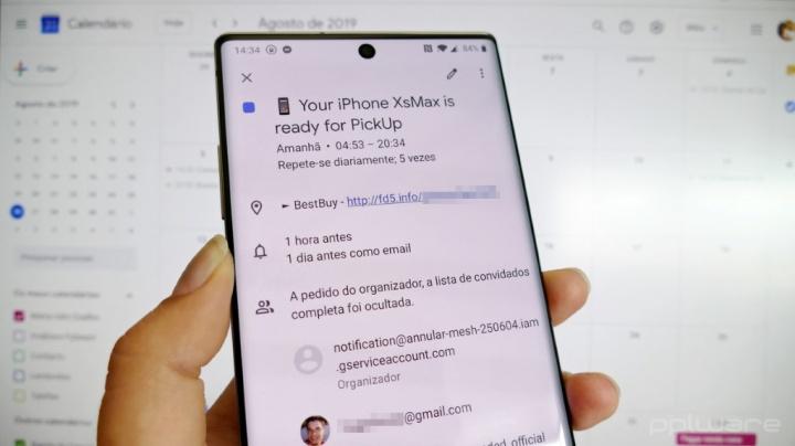 Calendário Google: Como impedir que a sua conta seja invadida com spam