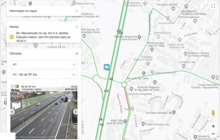Trânsito: Saiba como aceder às câmaras das autoestradas