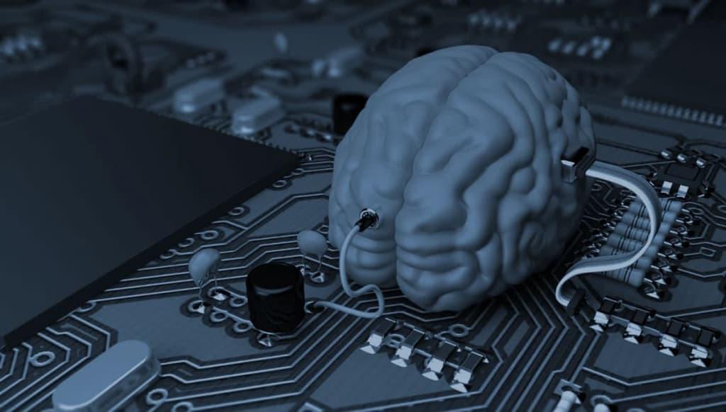 Imagem ilustrativa do Sentient, o cérebro artificial criado pelos militares dos EUA