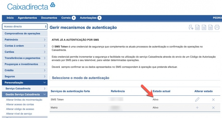 Cliente CGD? SMS Token obrigatório a partir de setembro! Ative já