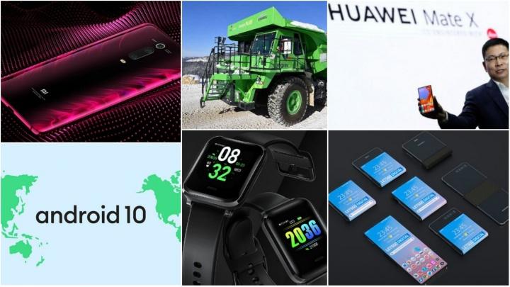 E os destaques tecnológicos da semana que passou foram... - Huawei, Samsung, Xiaomi, Android, Apple