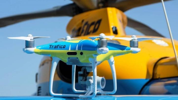 Drones começam a multar nas estradas espanholas esta quinta-feira