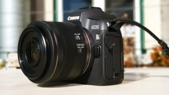 canon DSLR máquina fotográfica