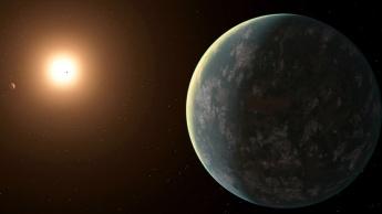 Ilustração na NASA do planeta GJ 357d