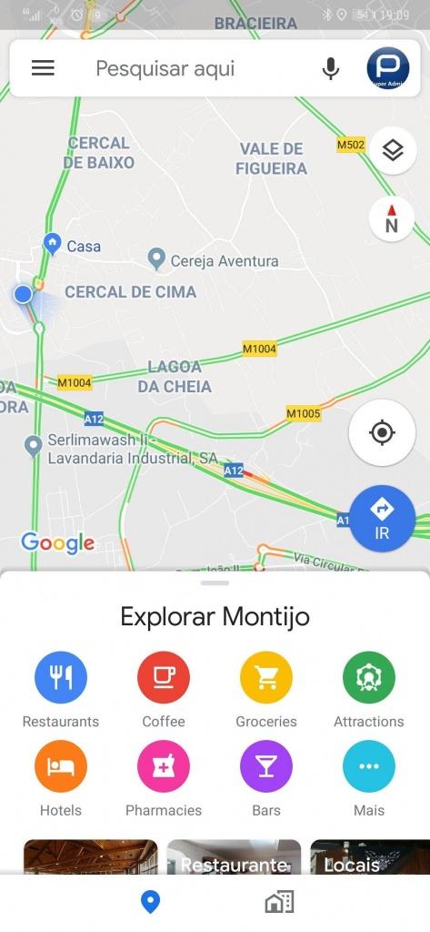 Google Maps Live View realidade aumentada imersividade navegar
