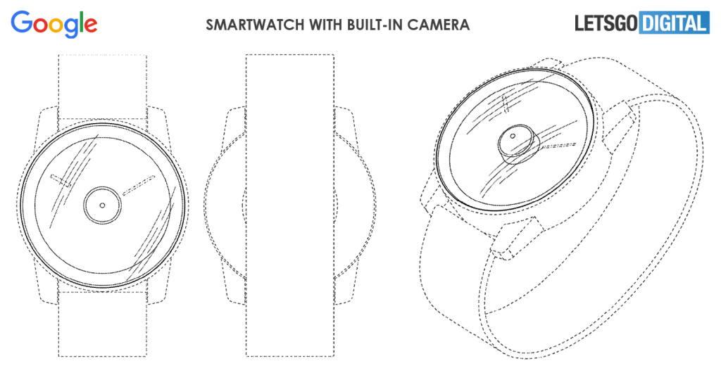 Google smartwatch câmara fotográfica patente