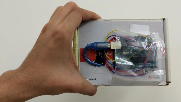 Imagem do WIO, novo sistema para ajudar na navegação interior de drones e robôs