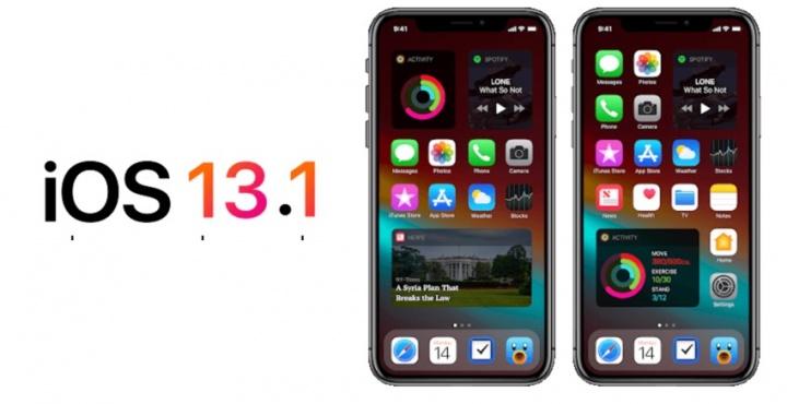 Apple lançou (estranhamente)o iOS 13.1 beta para programadores
