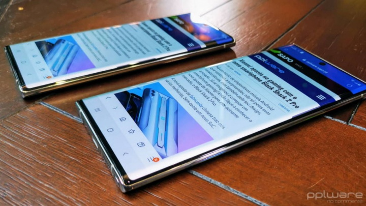 Samsung Galaxy Note 10 iPhone velocidade