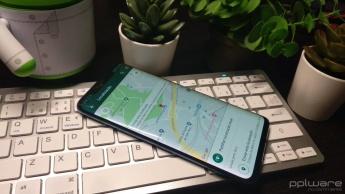 WhatsApp localização partilha falsa app