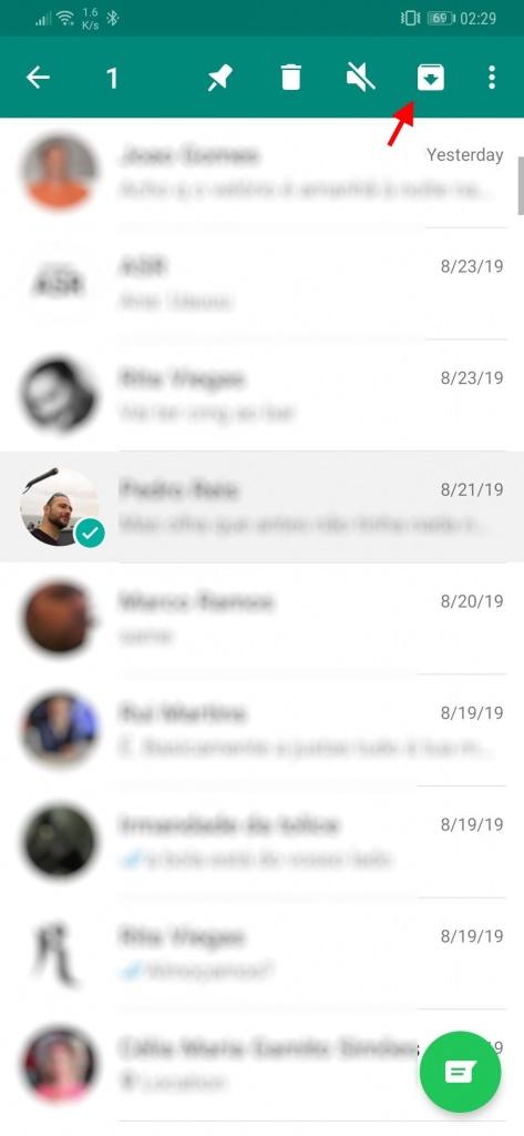 WhatsApp esconder conversas olhares curiosos