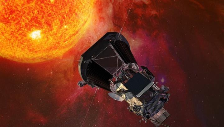 Imagem ilustrativa Parker Solar Probe