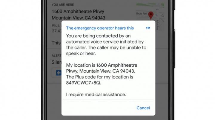 Android Google 112 emergência utilizadores