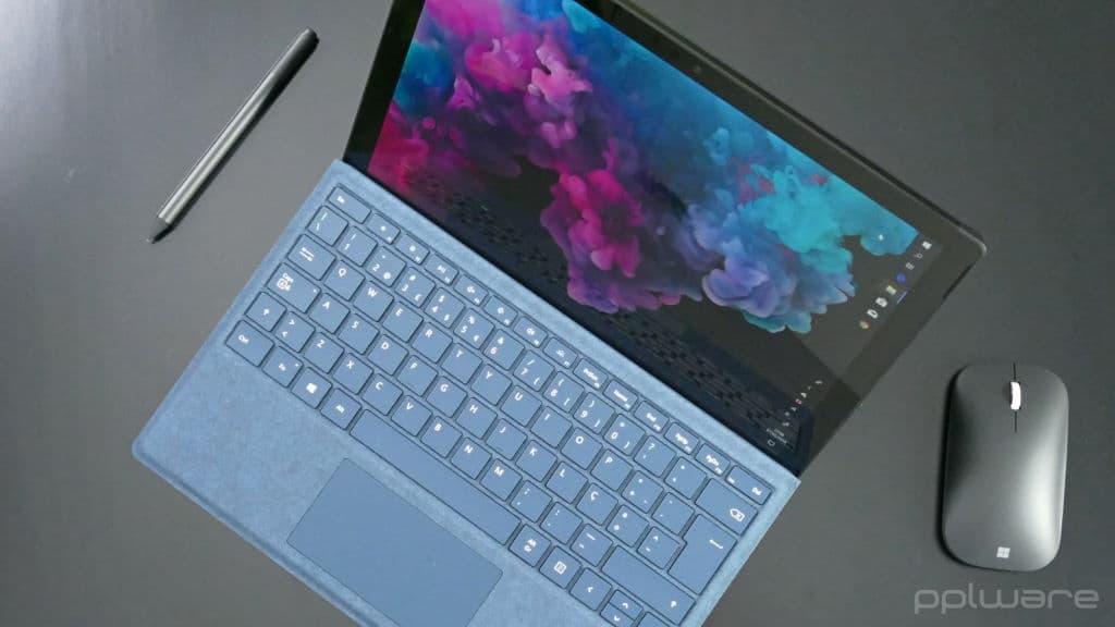 Microsoft Surface Pro 5 e 6 estão a apresentar sérios problemas de bateria