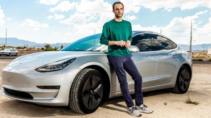 Tesla carros vigilância rodas câmaras