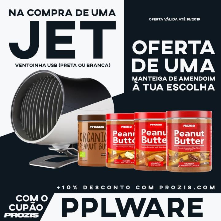 Jet Ventoinha USB portátil da Prozis: Para quando está calor